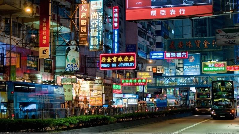 China Market Scene At Night.jpg